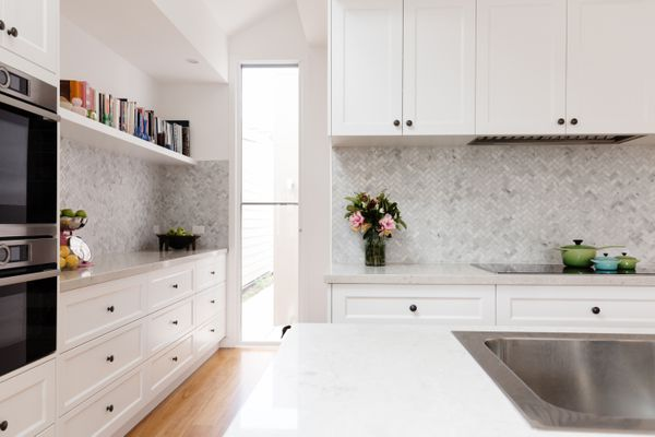 Beautiful new kitchen in a classic country style
