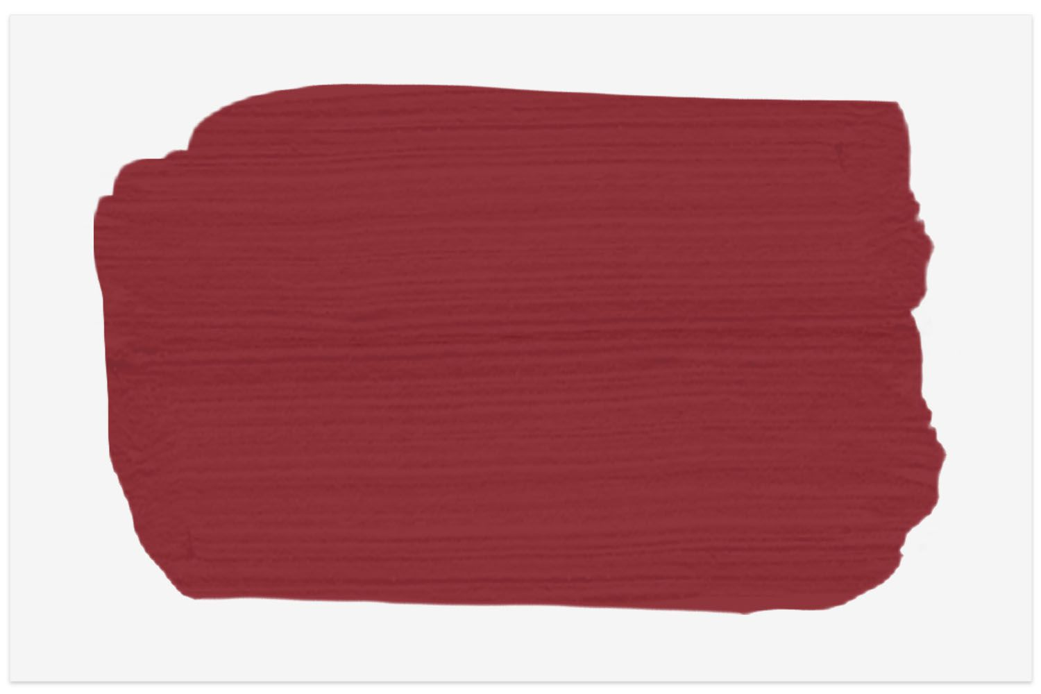 Glidden Red Delicious paint swatch