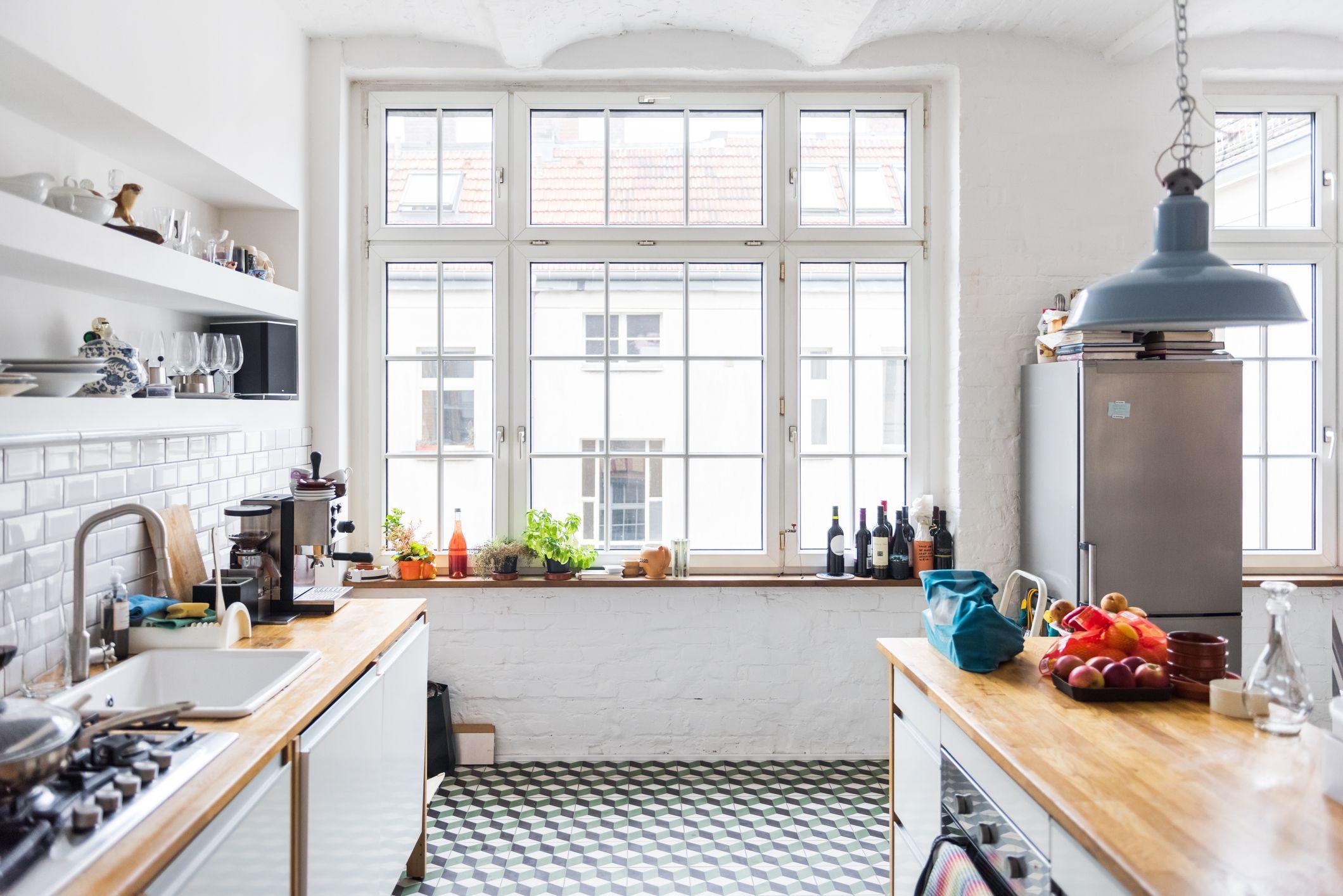 Good Feng Shui Floor Plan Tip 4 - Kitchen Location