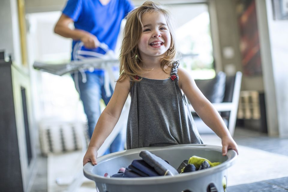 How To Use Laundry To Teach Kids Learning Skills