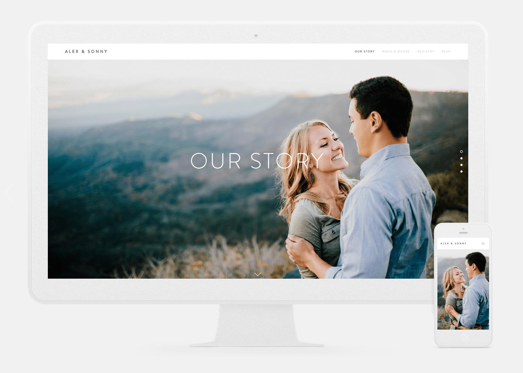 Best Wedding Websites.4 Best Wedding Website Providers For Modern Couples