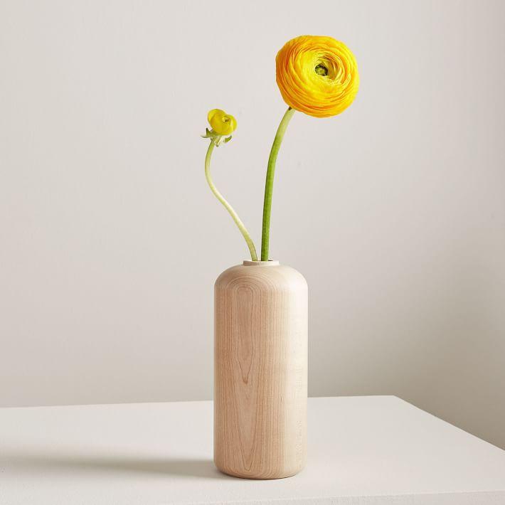 West Elm Melanie Abrantes Hardwood Vase