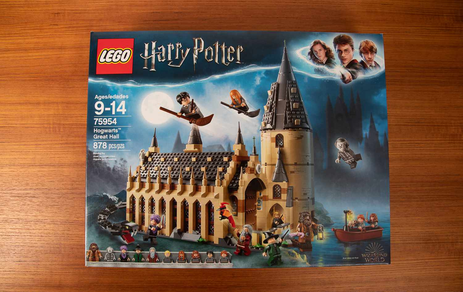 LEGO Harry Potter front