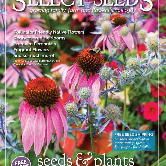 El catálogo de semillas y plantas de Select Seeds 2018