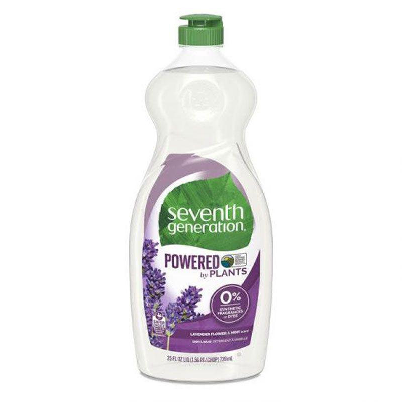 Seventh Generation lavender dish liquid