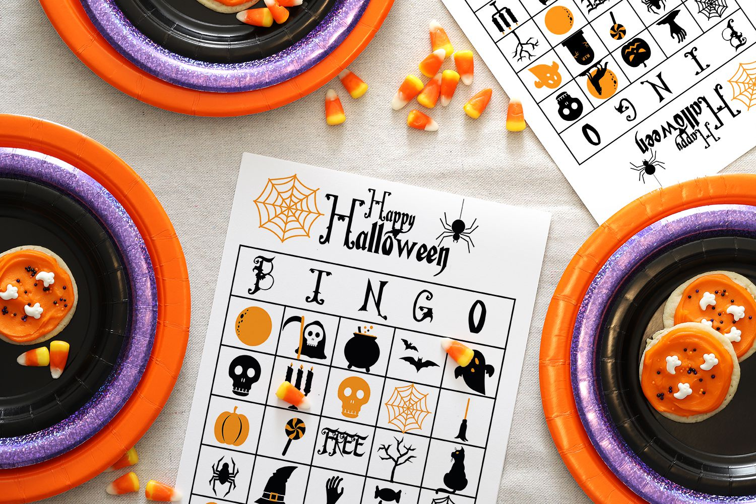 13 Sets Of Free Printable Halloween Bingo Cards