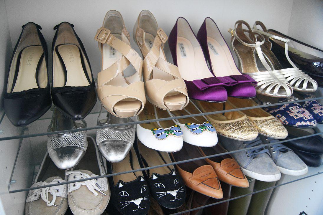IKEA shoe storage Billy bookcase hack