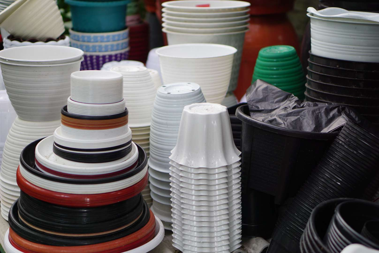 choosing containers with drainage