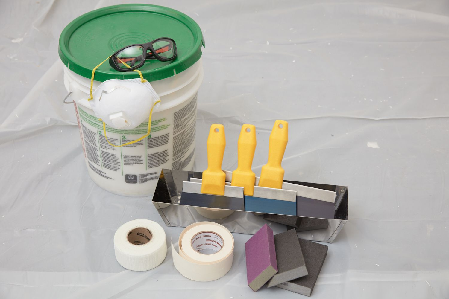 tools to finish drywall