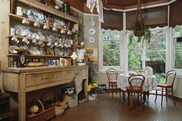 Kitchen Opening to Garden