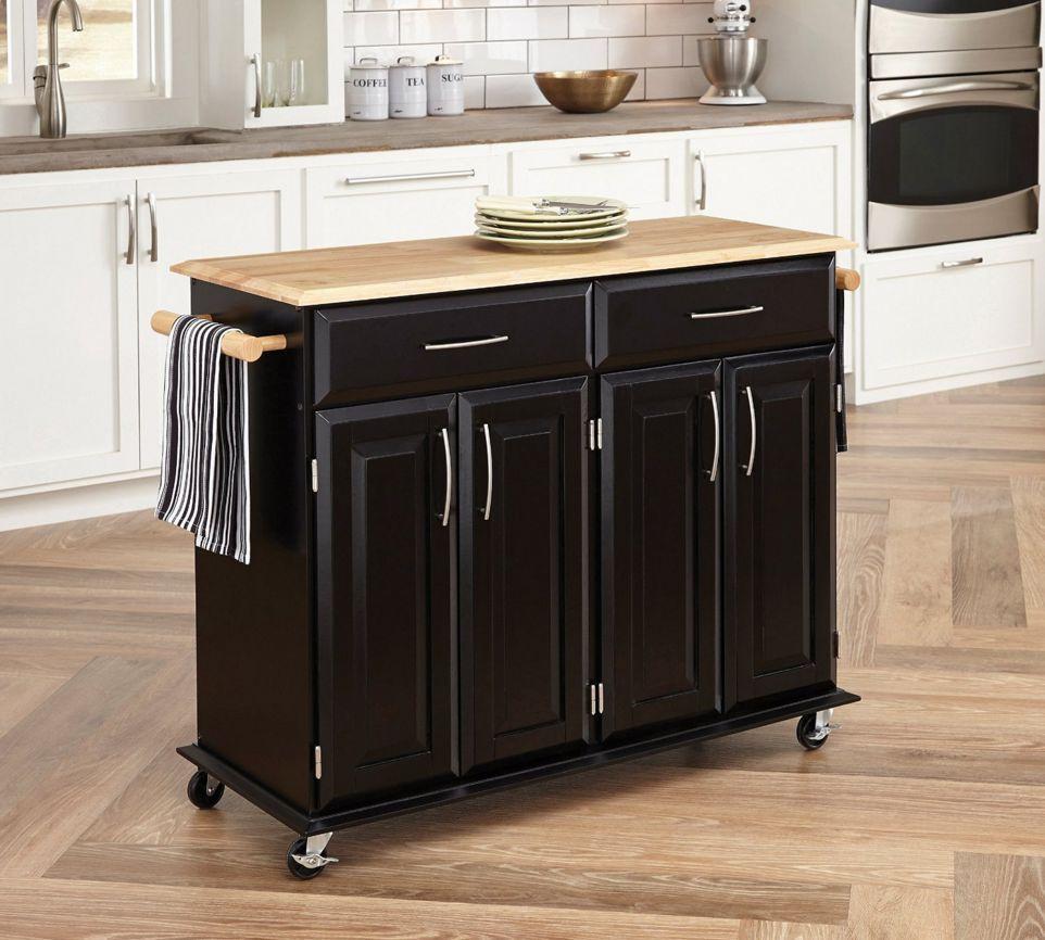 HomeStyles Dolly Madison Kitchen Cart