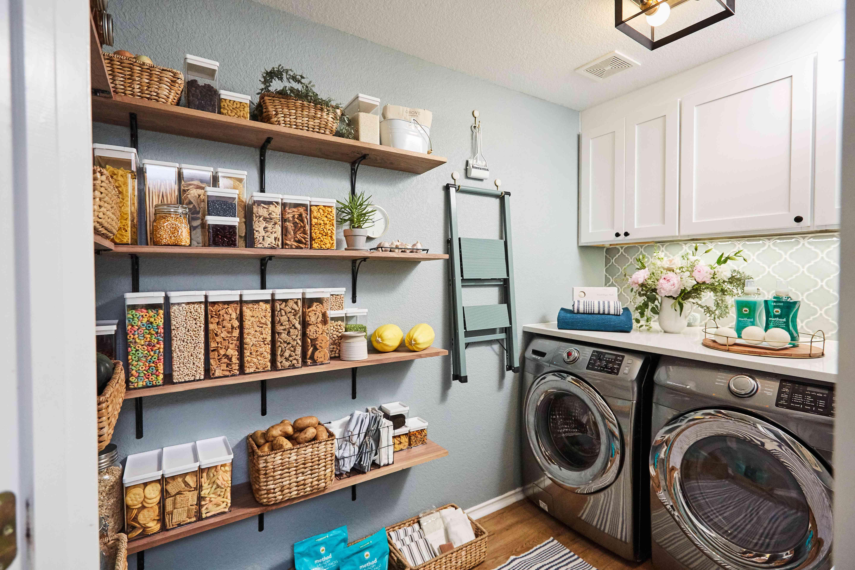 Laundry room transformation by Orlando Soria