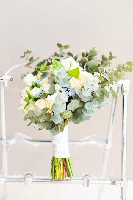 Bouquet de bodas de verano Blueberry