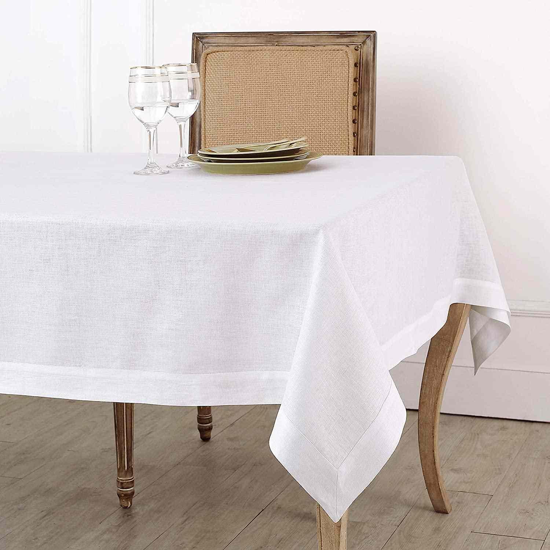 Solino Home 100% Pure Linen Tablecloth