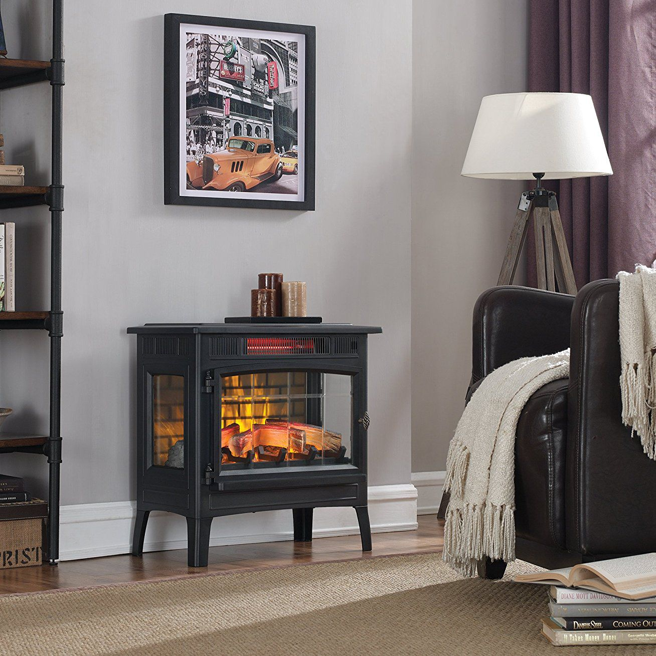 Fine The 7 Best Electric Fireplace Heaters Of 2019 Home Interior And Landscaping Ferensignezvosmurscom