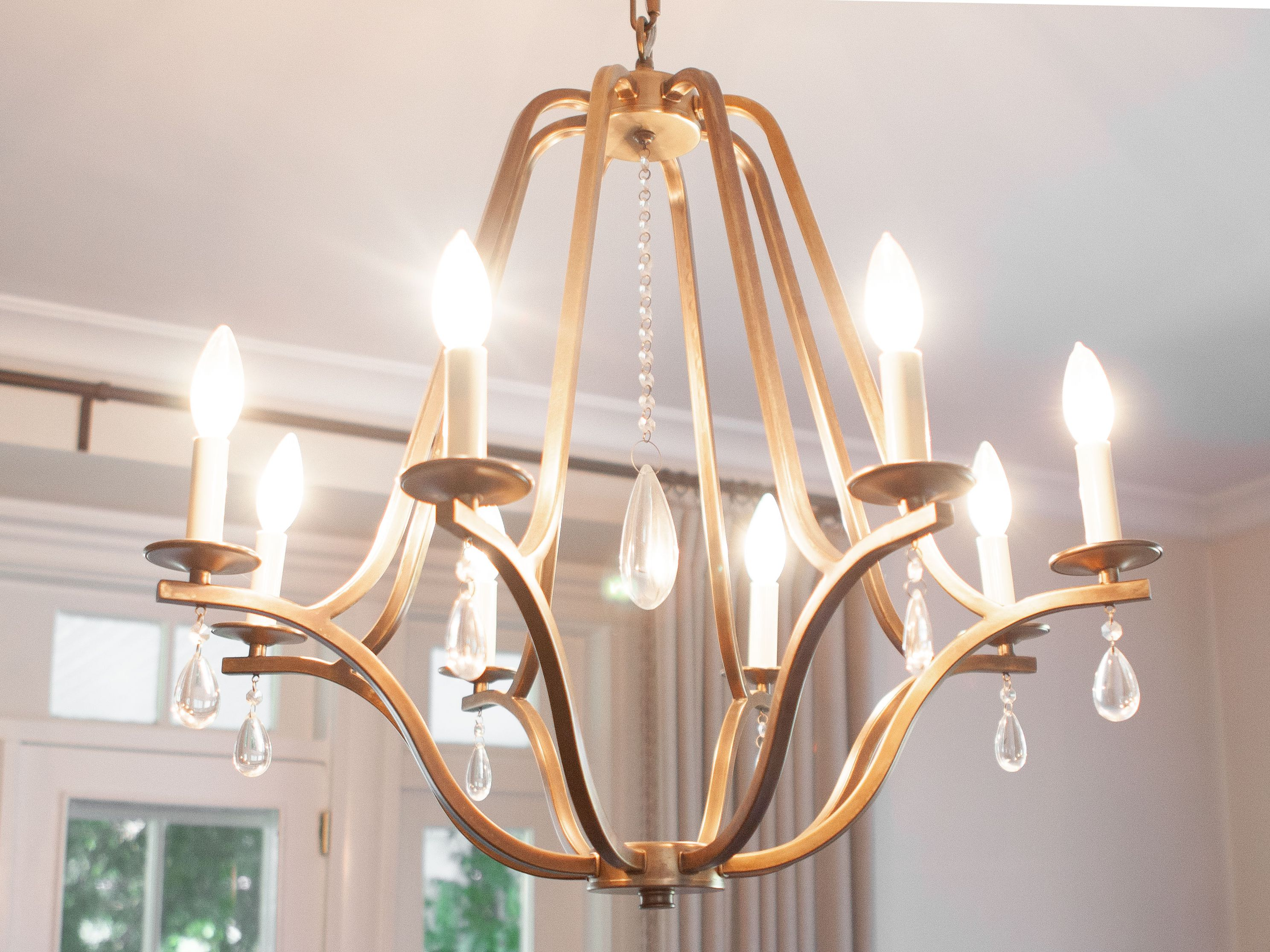 Hanging A Dining Room Chandelier At The
