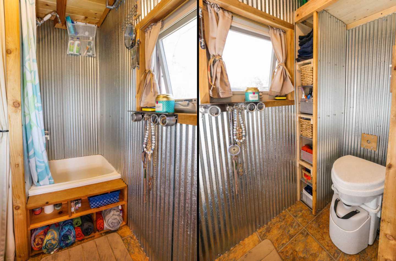 33 Small Shower Ideas For Tiny Homes, Tiny House Bathroom Ideas