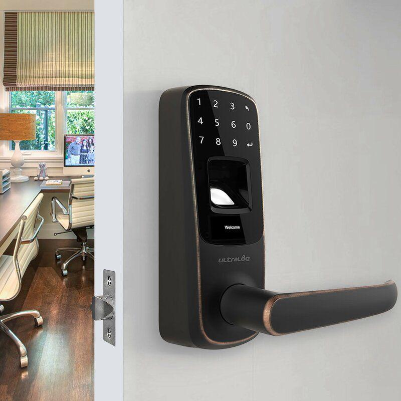 ULTRALOQ Fingerprint and Touchscreen Keyless Lock