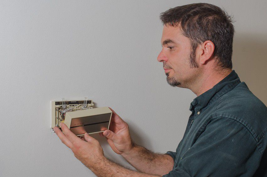 Installing A Low Voltage Hvac Thermostat