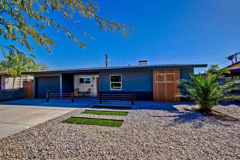 Mid Century Modern Homes With