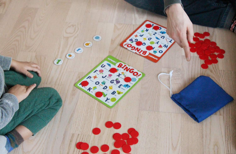 Peaceable Kingdom Alphabet Bingo!