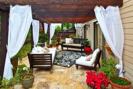 Remarkable 50 Outdoor Living Room Design Ideas Home Interior And Landscaping Spoatsignezvosmurscom