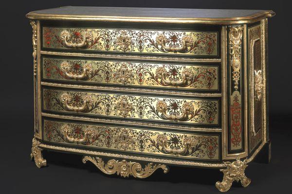 Commode belonging to King Louis XIV