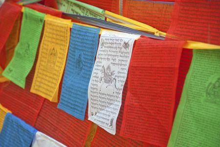 Use Tibetan Prayer Flags for Good Feng Shui