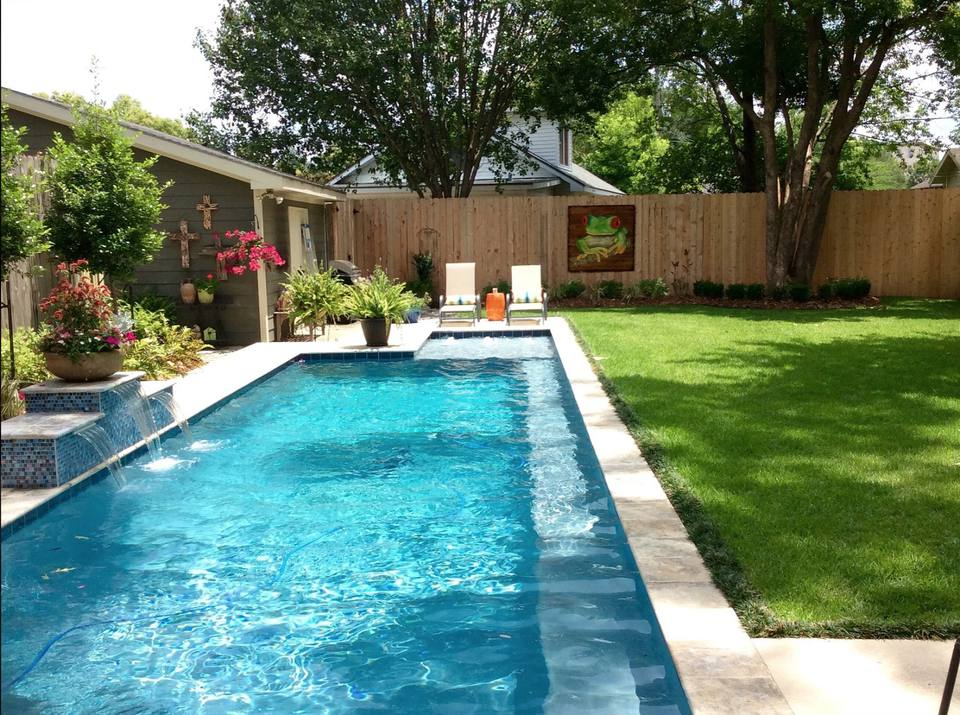 50 Backyard Landscaping Ideas to Inspire You on lighting for small backyards, xeriscaping for small backyards, drainage for small backyards, plants for small backyards, fences for small backyards, design for small backyards, concrete for small backyards,