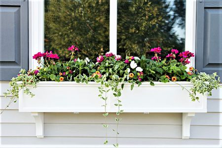 Fancy Trimmed Diy Window Box