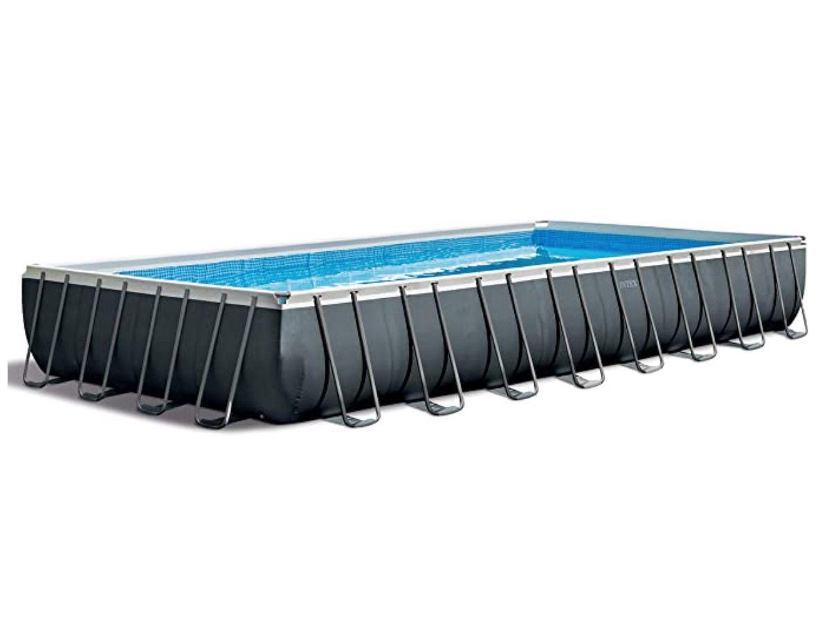 Ultra XTR Rectangular Pool Set with Sand Filter Pump & Saltwater System