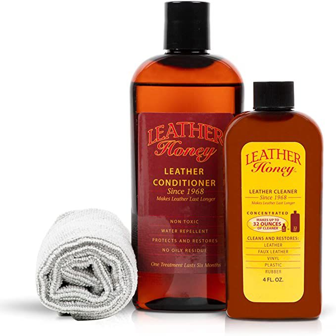 Leather Honey Leather Conditioner & Cleaning Kit