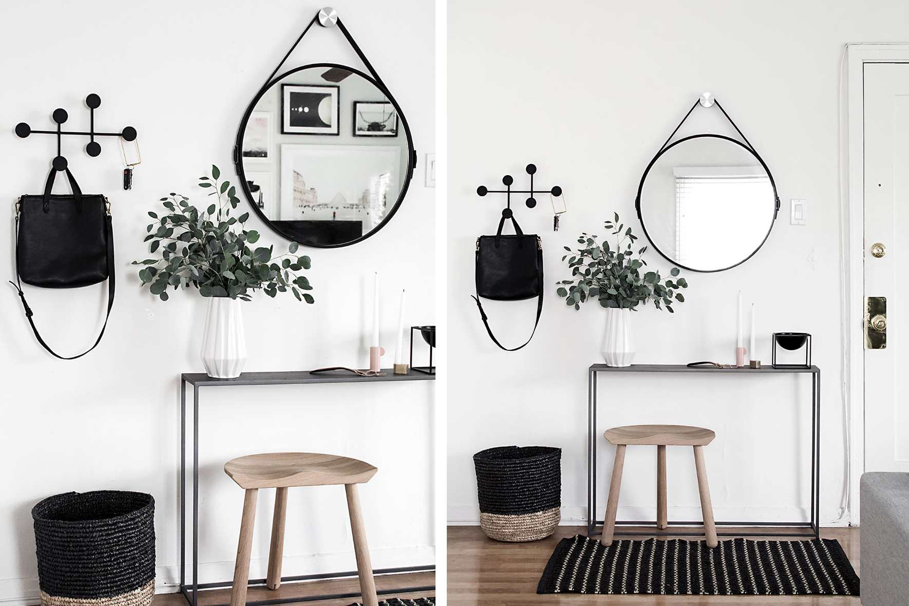 20 Looks To Make Your Small Entryway More Stylish