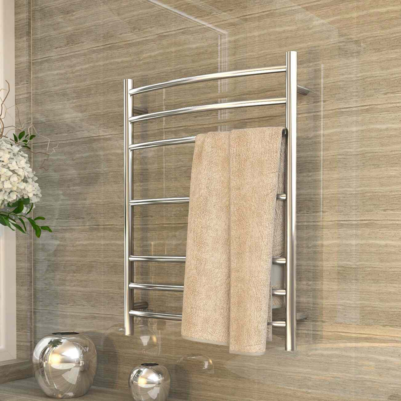 Anzzi Gown Plug In Stainless Steel Towel Warmer