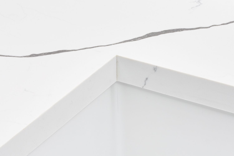 Quartz countertop detail