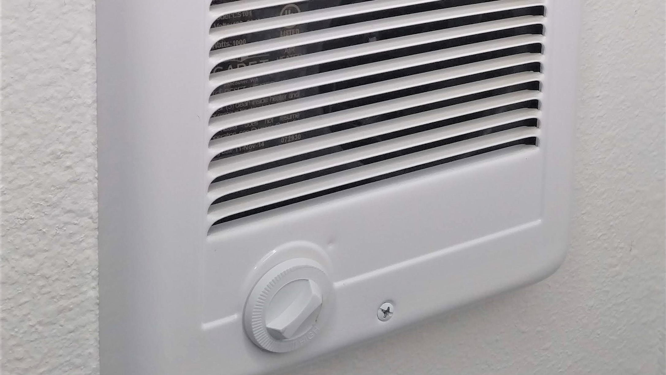 How To Repair A Wall Mounted Electric Heater