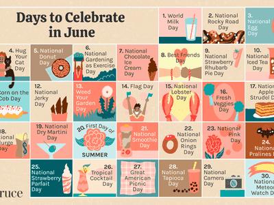 30 Days to Celebrate in June