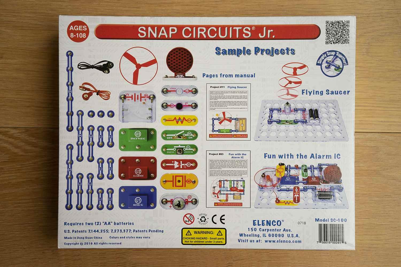 Snap Circuits box