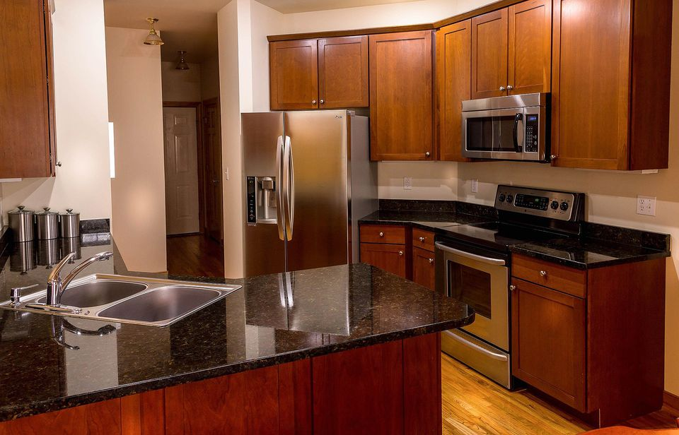 Granite countertop kitchen