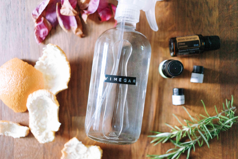 items for making vinegar smell better