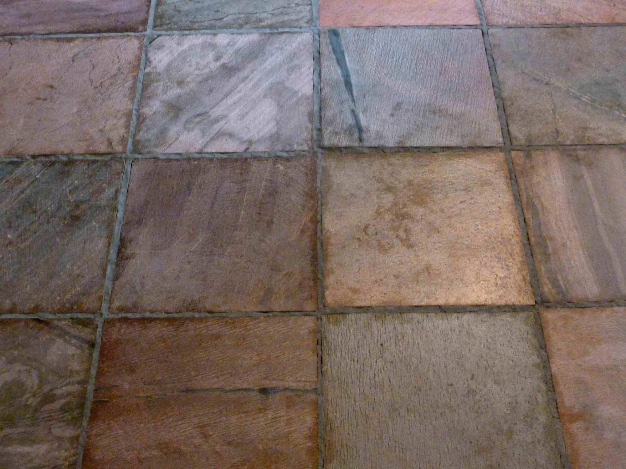 Installing Slate Tile
