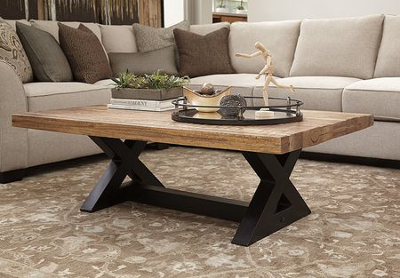 Unique ashley Trunk Coffee Table
