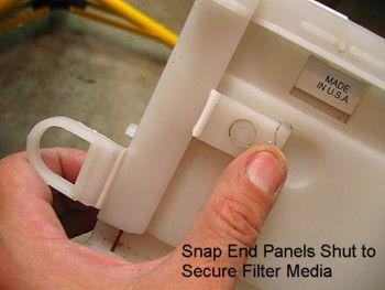 Aprilaire Space-Gard furnace filter