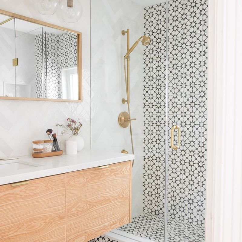33 Beautiful Bathroom Tile Design Ideas