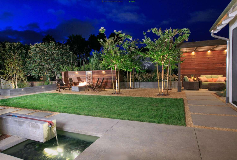 patio pequeño con zonas