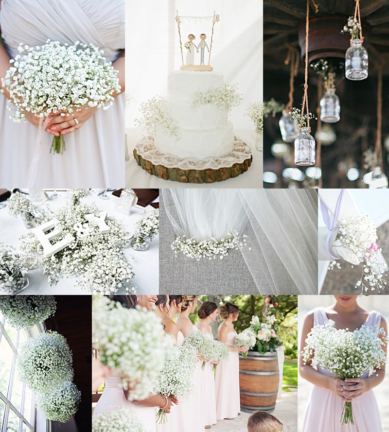 BABY'S BREATH WEDDING INSPIRATION