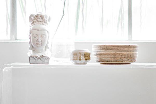 serene meditation area