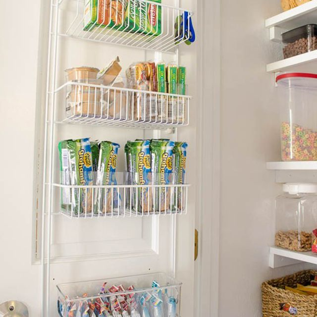 storage on pantry door