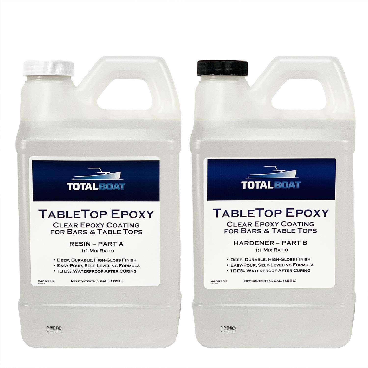 TotalBoat Epoxy Resin Crystal Clear