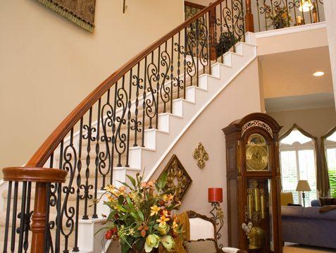 Escalera curvada